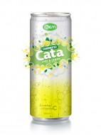 250ml OEM Carbonated Lemon Flavor Drink