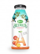 250ml OEM glass bottle Cherry Juice