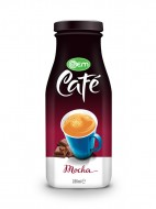 280ml OEM Glass bottle Mocha Coffee