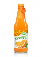 300ml OEM Glass bottle Orange Juice