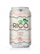 330ml Canned OEM Sparkling Coconut Water