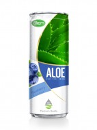330ml OEM Blueberry Flavor Aloe Vera