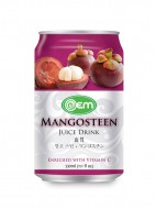 330ml OEM Mangosteen Juice Drink