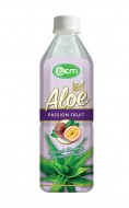 500ml OEM Aloe Vera With Passion Fruit