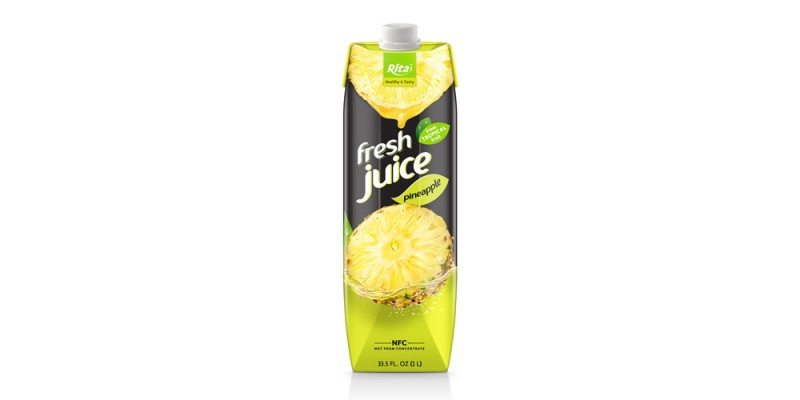 Box 1L fruit pineapple juice