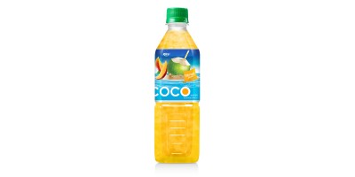 Coconut water with mango flavor  500ml Pet bottle 2