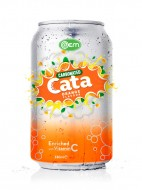 OEM Carbonated Orange Flavor Drink