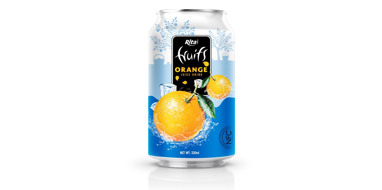 Private label products Orange juice 330ml - OEM