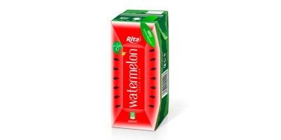 fruit watermelon juice tetra pak