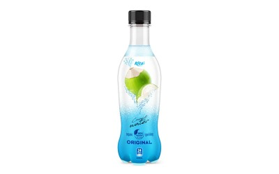 pet bottle 400ml spakling Coconut water  original web